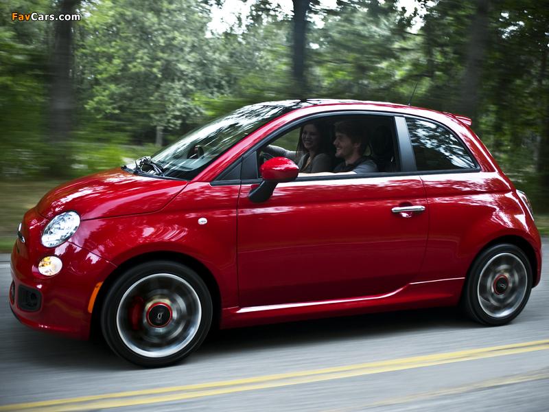 Fiat 500 Sport US-spec 2011 photos (800 x 600)