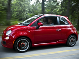 Fiat 500 Sport US-spec 2011 photos