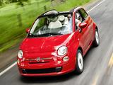 Fiat 500C Pop US-spec 2011 pictures