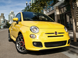 Fiat 500 Sport US-spec 2011 pictures