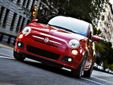 Fiat 500 Sport US-spec 2011 wallpapers