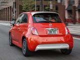 Fiat 500e 2013 images