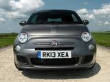 Fiat 500S UK-spec 2013 images