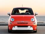 Fiat 500e 2013 photos