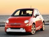Fiat 500e 2013 pictures