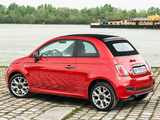 Fiat 500S Cabrio 2013 pictures