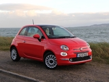Fiat 500 UK-spec (312) 2015 images