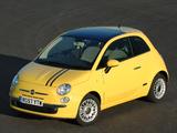 Images of Fiat 500 UK-spec 2008