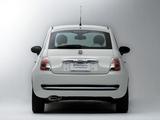 Images of Fiat 500 Lounge JP-spec 2008