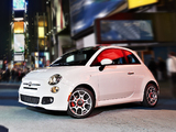 Images of Fiat 500 Sport US-spec 2011