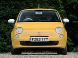 Images of Fiat 500 Colour Therapy UK-spec 2012