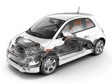 Images of Fiat 500e 2013