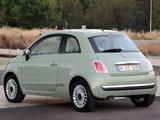 Photos of Fiat 500 AU-spec 2008