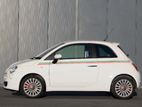 Photos of Fiat 500 UK-spec 2008