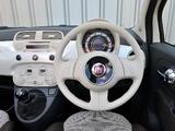 Photos of Fiat 500C UK-spec 2009