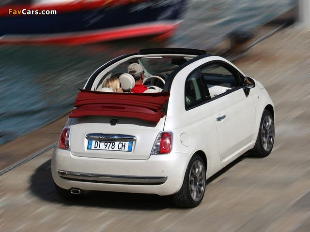 Photos of Fiat 500C 2009 (640 x 480)