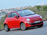Photos of Fiat 500C AU-spec 2010