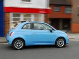 Photos of Fiat 500C TwinAir UK-spec 2010