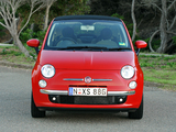 Photos of Fiat 500C AU-spec 2010