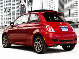 Photos of Fiat 500 Sport US-spec 2011