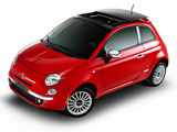 Photos of Fiat 500 Lounge Air BR-spec 2011