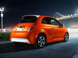 Photos of Fiat 500e 2013