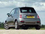 Photos of Fiat 500S UK-spec 2013