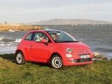 Photos of Fiat 500 UK-spec (312) 2015