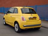 Pictures of Fiat 500 UK-spec 2008