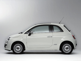 Pictures of Fiat 500 Lounge JP-spec 2008
