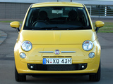 Pictures of Fiat 500 Sport AU-spec 2008–12