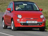 Pictures of Fiat 500C UK-spec 2009