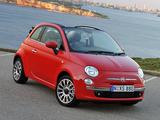 Pictures of Fiat 500C AU-spec 2010