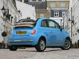 Pictures of Fiat 500C TwinAir UK-spec 2010