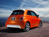 Pictures of Fiat 500e 2013