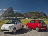 Fiat 500 2007 wallpapers