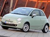 Fiat 500 AU-spec 2008 wallpapers