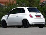 Novitec Fiat 500 2008 wallpapers