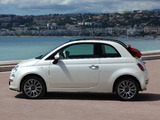 Fiat 500C 2009 wallpapers