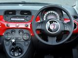 Fiat 500C AU-spec 2010 wallpapers