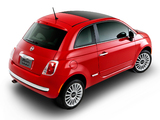 Fiat 500 Lounge Air BR-spec 2011 wallpapers