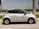 Fiat 500 Lounge US-spec 2011 wallpapers