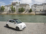 Fiat 500C(312) 2015 wallpapers