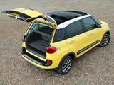 Fiat 500L Trekking UK-spec (330) 2013 images