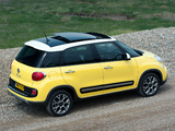 Fiat 500L Trekking UK-spec (330) 2013 photos
