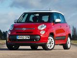 Fiat 500L UK-spec (330) 2013 photos