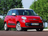 Fiat 500L UK-spec (330) 2013 pictures