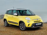 Fiat 500L Trekking UK-spec (330) 2013 pictures