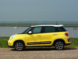 Fiat 500L Trekking UK-spec (330) 2013 pictures