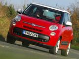 Fiat 500L UK-spec (330) 2013 pictures